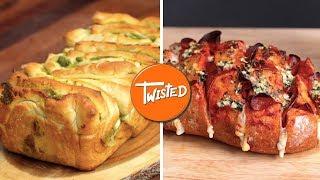 9 Bread Recipes Anyone Can Make   Easy Homemade Bread   Garlic Bread   Twisted