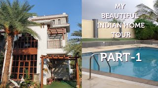 My Beautiful Indian Home Tour Part-1 | India Home Tour | MomCafe