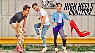 HIGH HEELS Challenge for 24 hours | Rimorav Vlogs