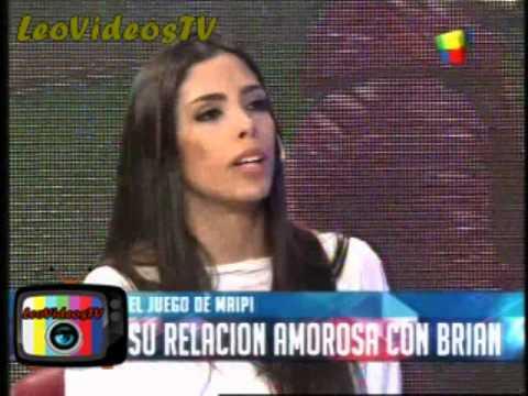 Maria Paz y su acercamiento con Brian GH 2015 #GH2015 #GranHermano