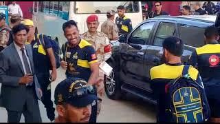 PSL Security Protocol Karachi, Full Video | PSL Final Karachi 2018.