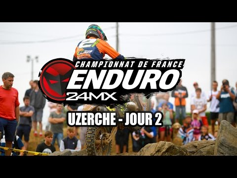 Résumé CDF enduro 2016 Urzeche - J2