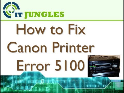 Fix for Canon Pixma g2000 printer error 5100 |SOLVED| - игровое