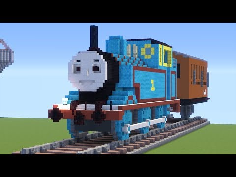 Thomas the Tank Engine with Annie and Clarabel Minecraft Project