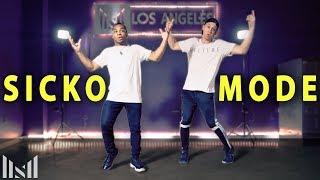 SICKO MODE - Travis Scott ft Drake Dance   Matt Steffanina & Fikshun