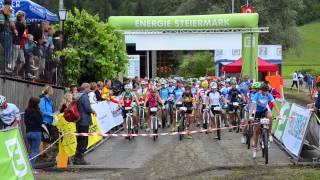 preview picture of video 'UEC European Youth Mountainbike Championships Graz/Stattegg MTB combined XCO'