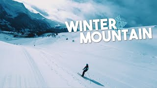 Winter Mountain | FPV Cinematic (4K)