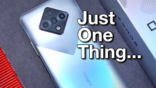 Infinix ZERO 8 Smartphone Review - Just One Thing