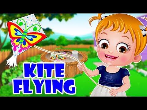 Video of Baby Hazel Kite Flying