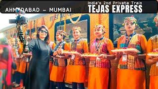 IRCTC Ahmedabad-Mumbai Tejas Express, Executive Class Full Journey | Tejas Train Vlog