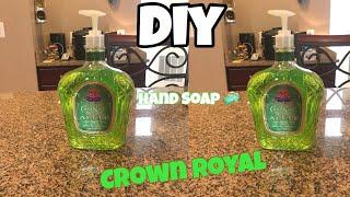 DIY SOAP DISPENSER W/ LIQUOR BOTTLE | CROWN ROYAL| GHETTO & CREATIVE 🤔💡