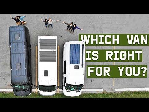 VAN LIFE   choosing the right van for you
