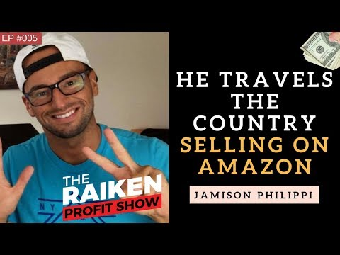 How To Travel The Country Selling on Amazon FBA With Jamison Philippi