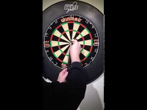 Darts - How To Measure the Throwing Distance or length from dartboard to oche