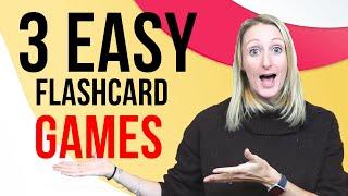 ESL Flashcard Games For Kids
