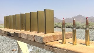 How much Gold does it take to stop a 50cal?