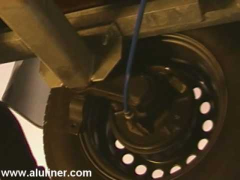 Bremsseil an einen Anhänger auswechseln Montage Anleitung Kröger-Serie