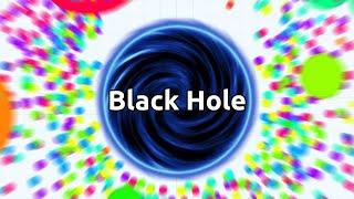 I Used A BLACK HOLE Troll In Agar.io!