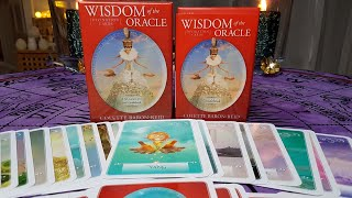 🌟WISDOM OF THE ORACLE DIVINATION CARDS, By Colette Baron-Reid. A Short Review!