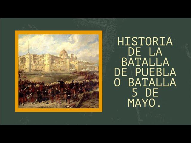 Wymowa wideo od Batalla de Puebla na Hiszpański