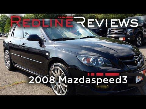 2008 Mazdaspeed3 Review, Walkaround, Exhaust & Test Drive
