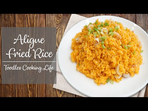 Aligue Fried Rice | Filipino Fried Rice Recipe | Toodles Cooking Life