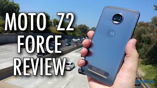 "Motorola Moto Z2 Force Review: The ""Incomplete"" Flagship Smartphone?"