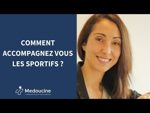 Comment accompagnez vous les sportifs ?