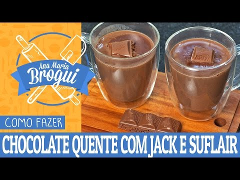 Chocolate quente c/suflair
