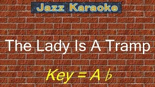 "JazzKara  ""The Lady Is A Tramp"" (Key=Ab)"
