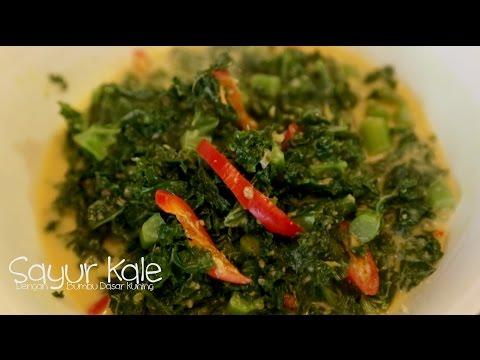 Video Sayur Kale Dengan Bumbu Dasar Kuning.