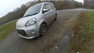 Прокатились. Toyota Porte. Автомобиль 2013 года выпуска.