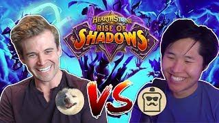 (Hearthstone) Kibler VS Disguised Toast: Rise of Shadows Best of 7