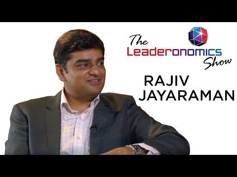 The Leaderonomics Show - Rajiv Jayaraman, Founder CEO of KNOLSKAPE