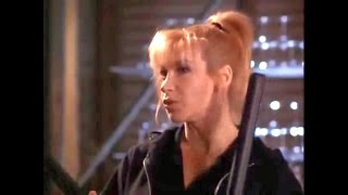 Martial Arts Action Cynthia Rothrock Fight Scenes From Sworn To Justice 1996