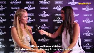 Interview Paris Hilton  AmnesiaTV 2014