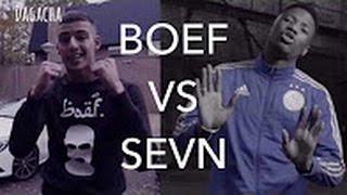 BOEF VS SEVN ALIAS!! VECHTEN!