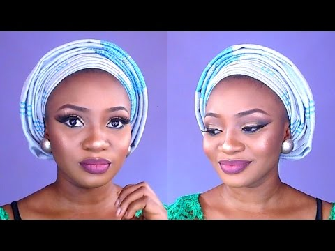 How to tie asooke gele with multiple pleats and GIST???/Nigerian weddings