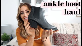 TESTING OUT ANKLE BOOTS | Sophie Milner