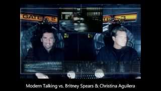 Modern Talking vs Britney Spears & Christina Aguilera - TV makes Britney a dirrty superstar [HD/HQ]