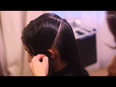 Maska twarogowego włosy