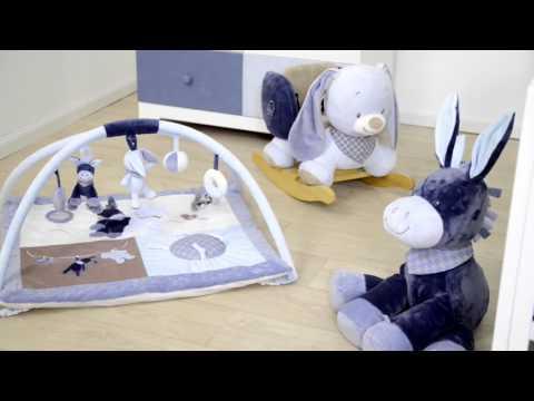 Погремушка-кольцо Nattou Кролик Бибу
