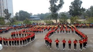 Giaỉ Nhất Ngày hội dân vũ 2016 của Khoa Giaó dục Tiểu học - DH sư phạm Thái Nguyên