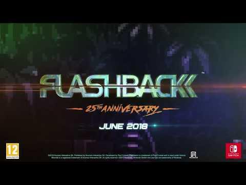 Видео № 0 из игры Flashback 25th Anniversary - Коллекционное Издание [NSwitch]