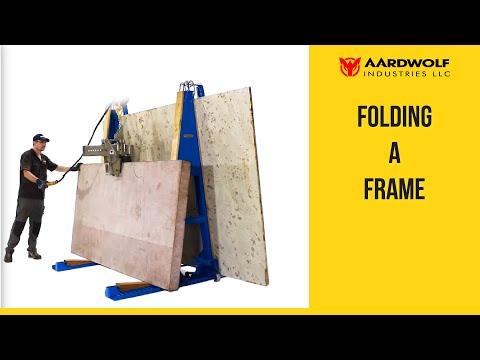 Folding 'A' Frames - Mod FAF-1600