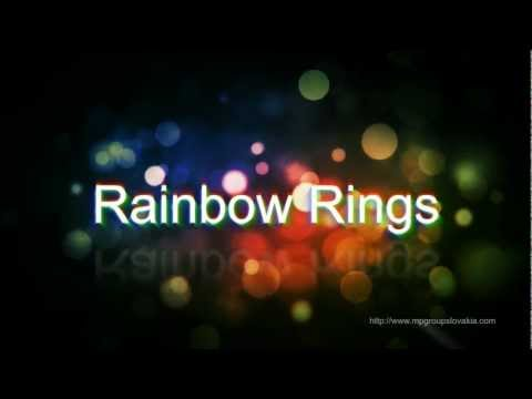 Video of Rainbow Rings - Live Wallpaper