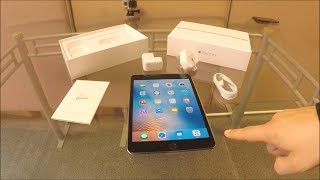 Apple iPad Mini 4 Unboxing UK - dooclip.me