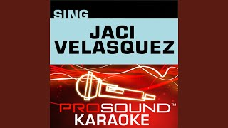 Un Lugar Celestial (A Heavenly Place) (Karaoke Instrumental Track) (In The Style Of Jaci Velasquez)