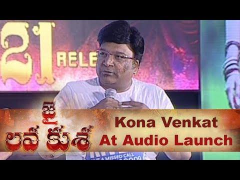 Kona Venkat at Jai Lava Kusa Movie Audio Launch