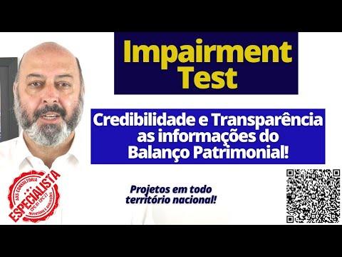 Impairment Test - CPC-01 - Demonstrações Contábeis Financeiras! Avaliação Patrimonial Inventario Patrimonial Controle Patrimonial Controle Ativo